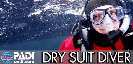 Dry Suit Diver PADI