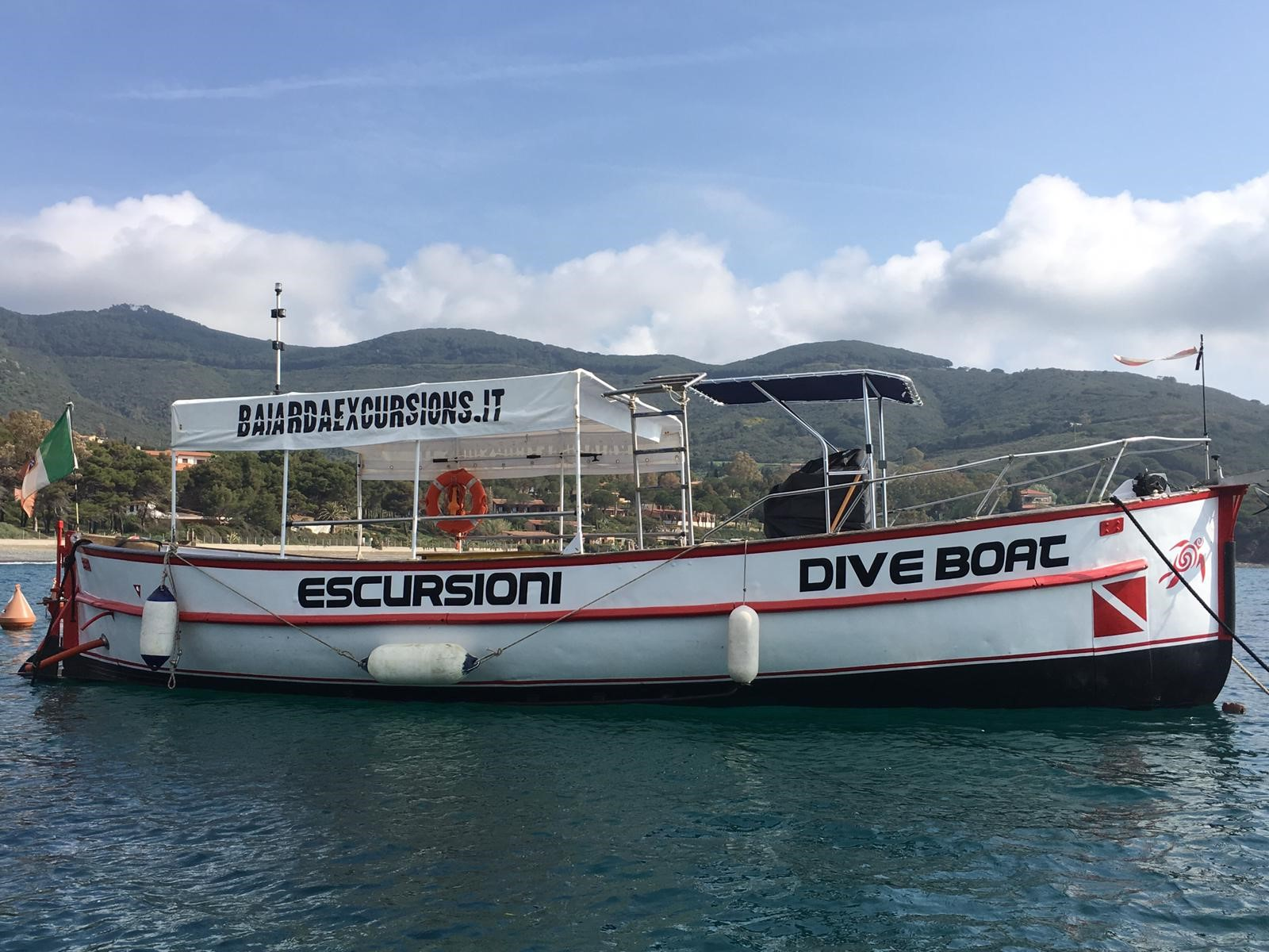 Diving all' Elba: Baiarda Dive Boat Excursions